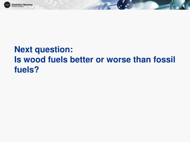 Next question: