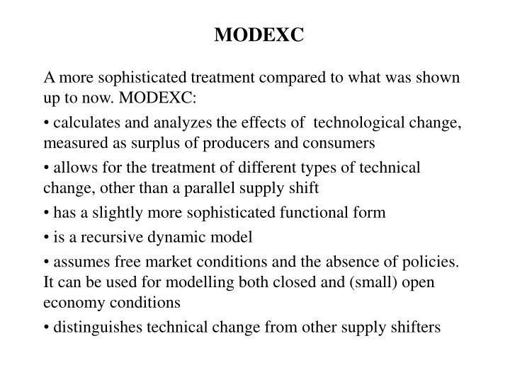 MODEXC