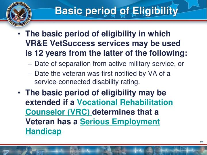 Basic period of Eligibility