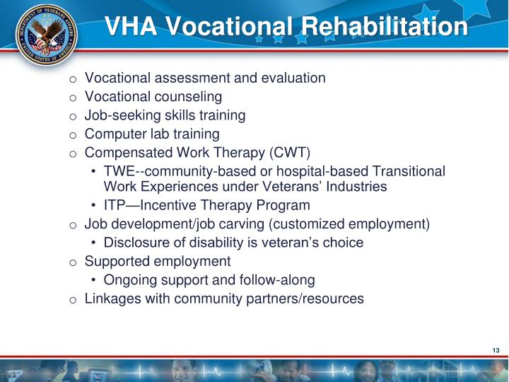 VHA Vocational Rehabilitation