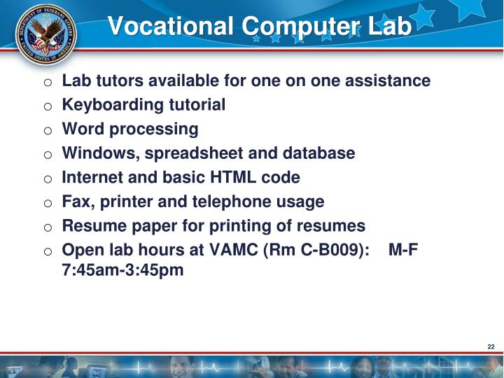 Vocational Computer Lab