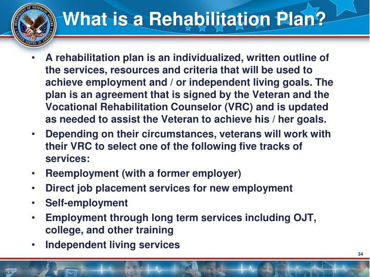 What is a Rehabilitation Plan?