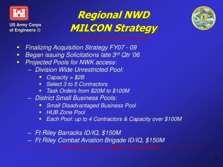 Regional NWD