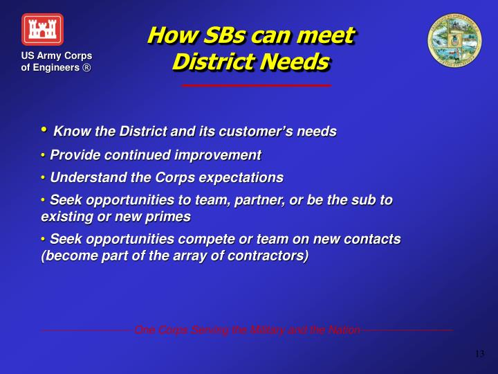 How SBs can meet