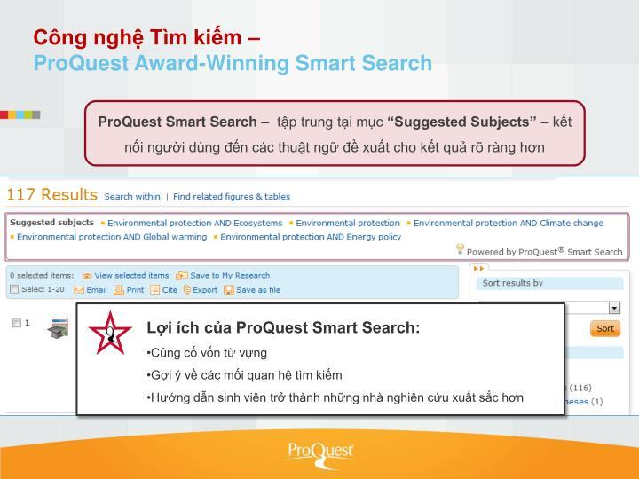 Công nghệ Tìm kiếm –