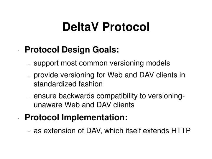 DeltaV Protocol