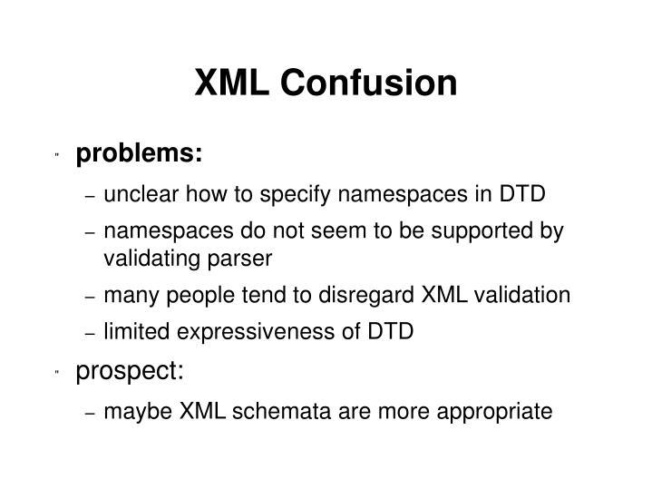 XML Confusion
