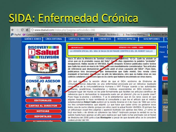 SIDA: Enfermedad Crónica