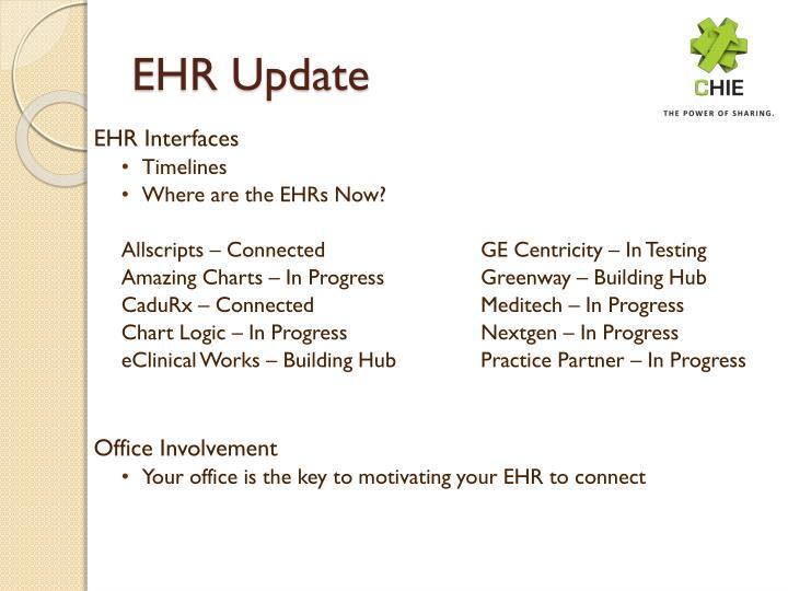EHR Update