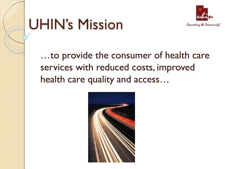 UHIN's Mission