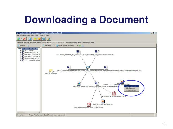 Downloading a Document
