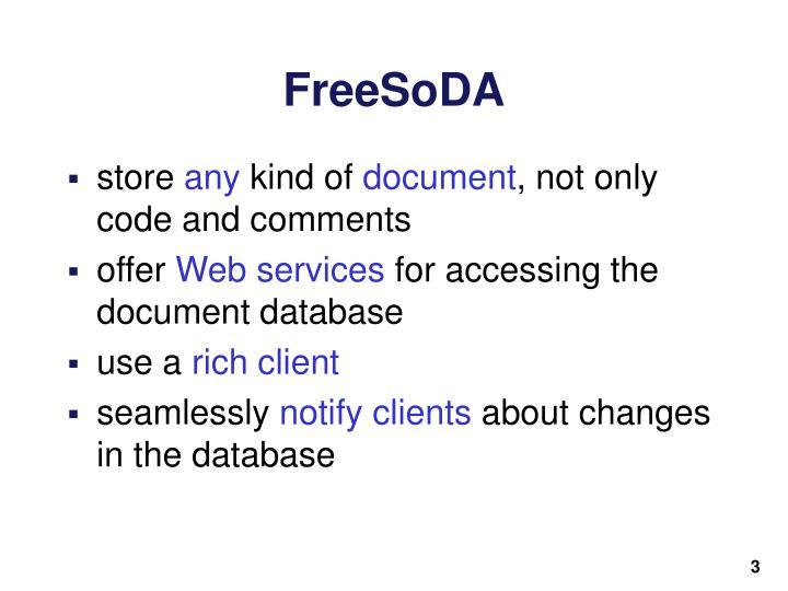 FreeSoDA