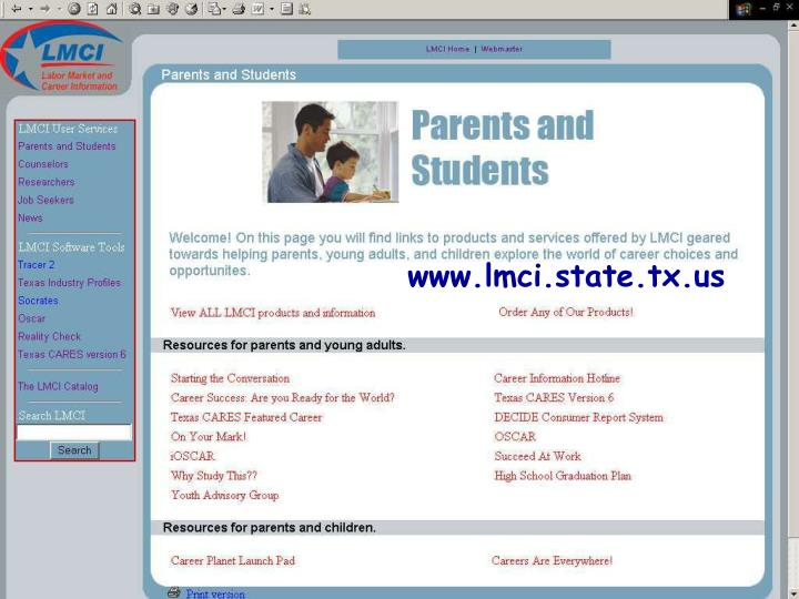 www.lmci.state.tx.us
