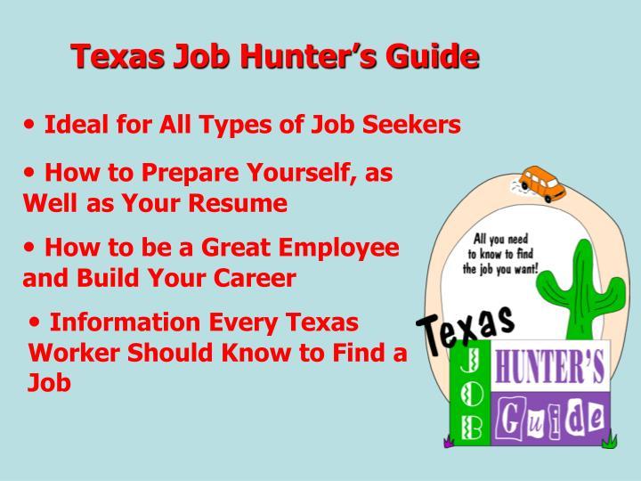 Texas Job Hunter's Guide