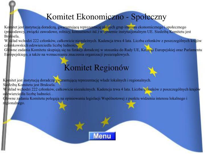 Komitet Ekonomiczno - Społeczny