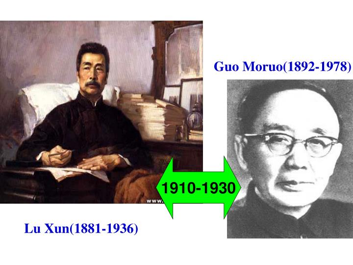 Guo Moruo(1892-1978)