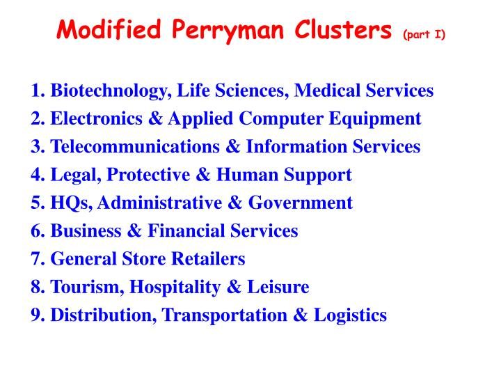 1. Biotechnology, Life Sciences, Medical Services