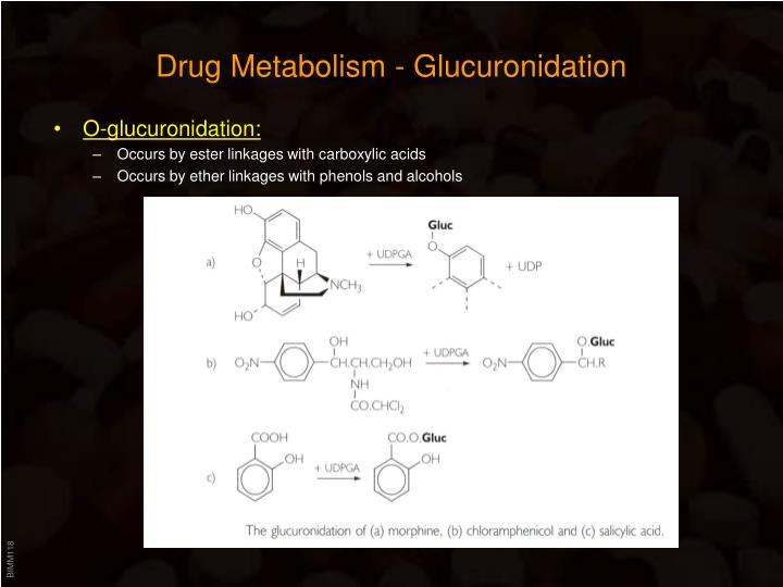 Drug Metabolism - Glucuronidation