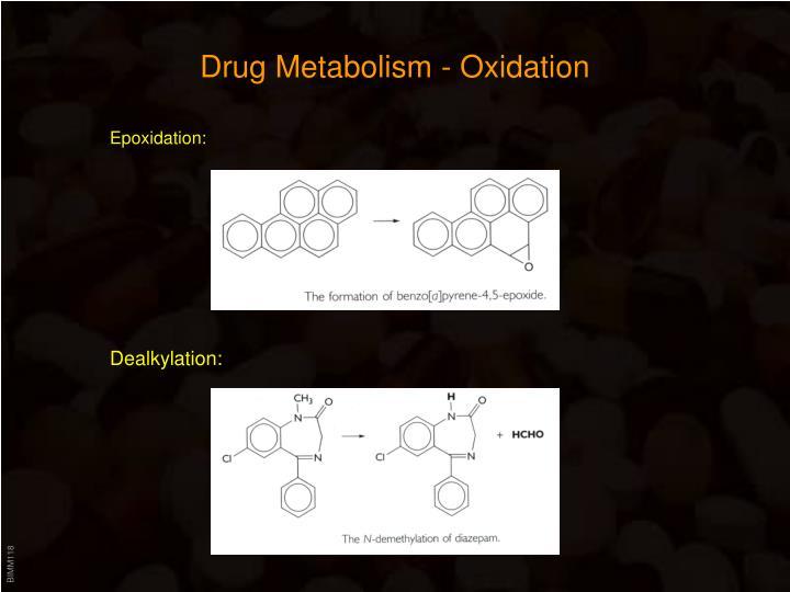 Drug Metabolism - Oxidation