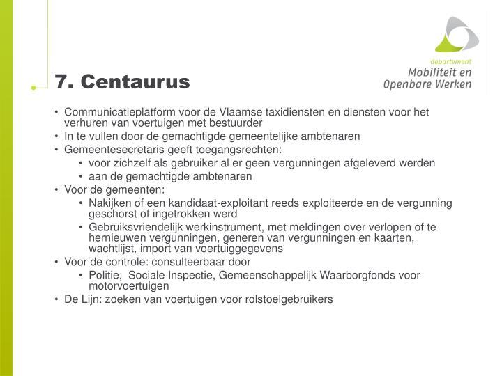 7. Centaurus