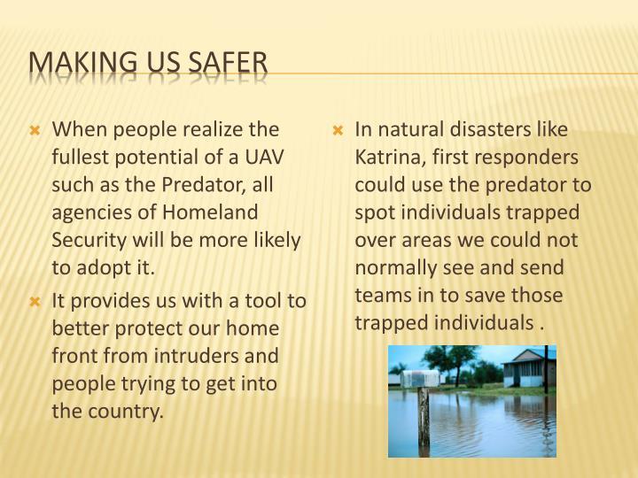 Making us safer