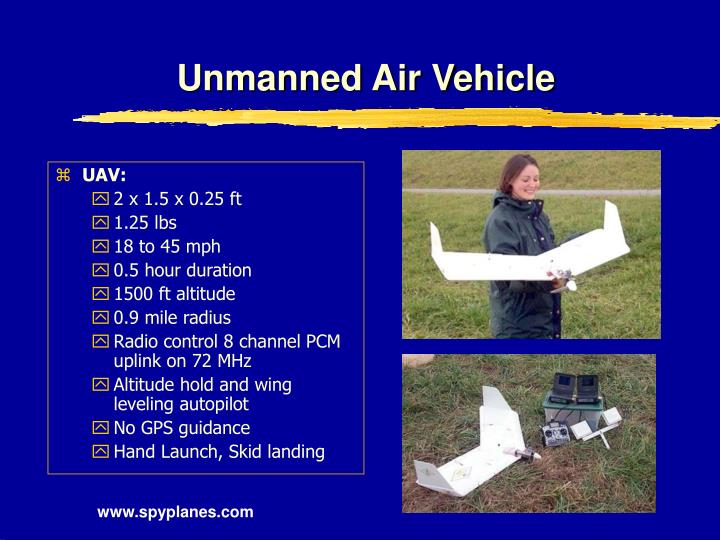 Unmanned Air Vehicle