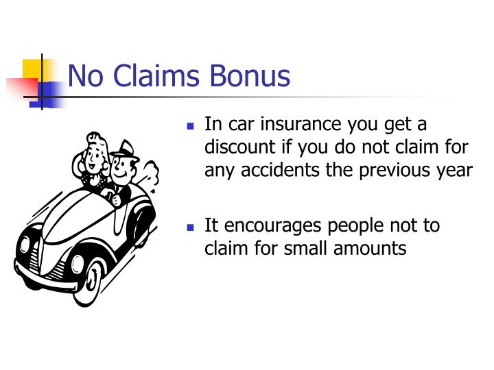 No Claims Bonus