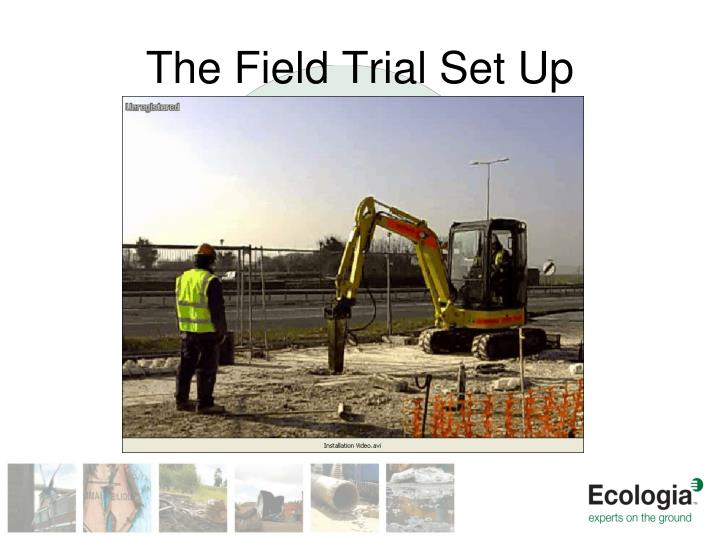 The Field Trial Set Up