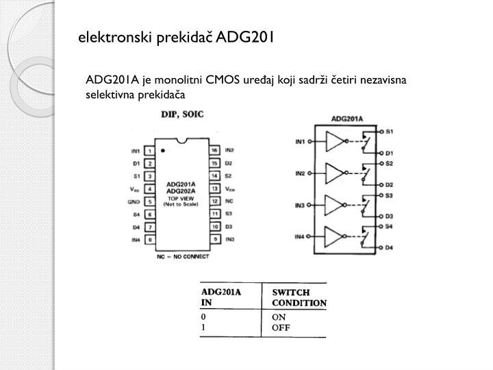 elektronski prekidač ADG201