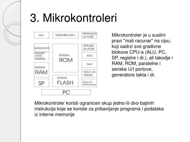 3. Mikrokontroleri