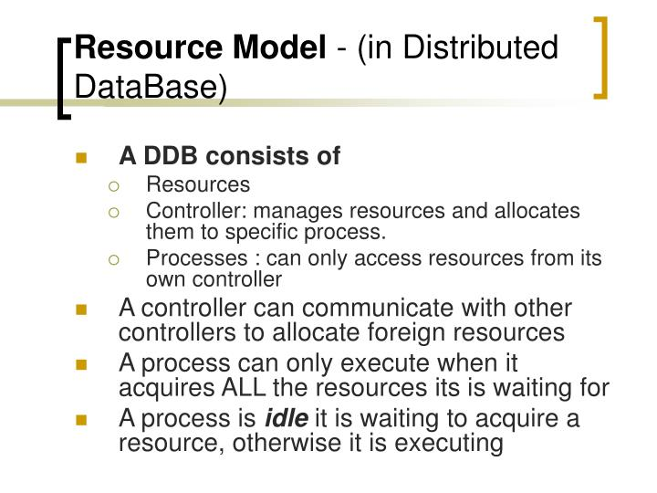 Resource Model