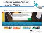 fostering success michigan resource website