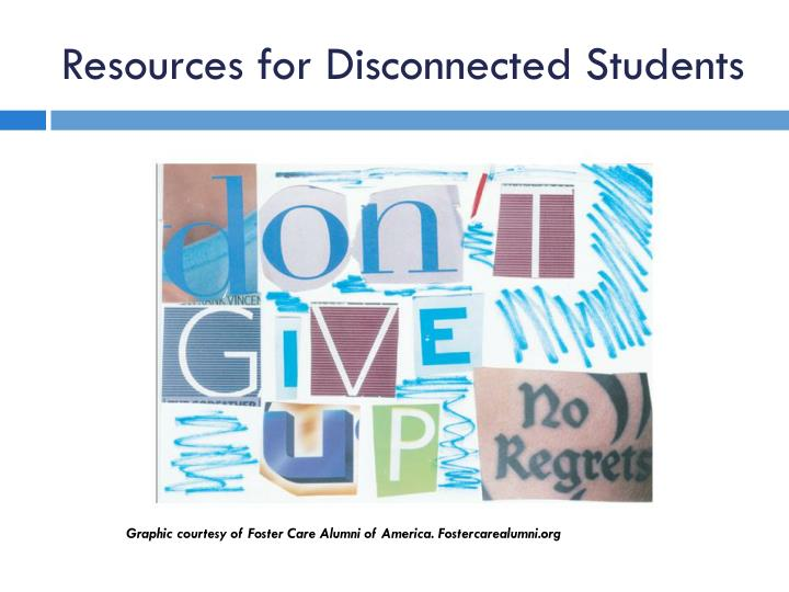 Resources for Disconnected Students