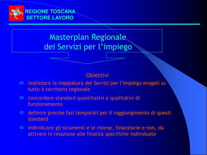 REGIONE TOSCANA SETTORE LAVORO