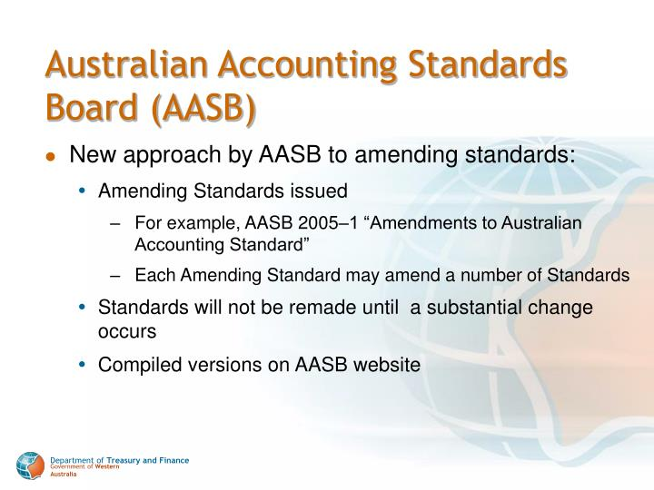 Australian Accounting Standards Board (AASB)