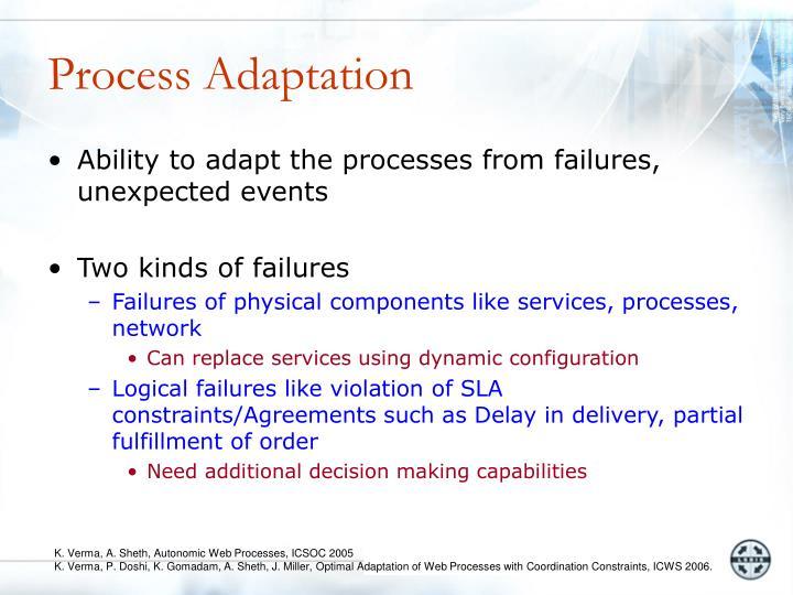 Process Adaptation