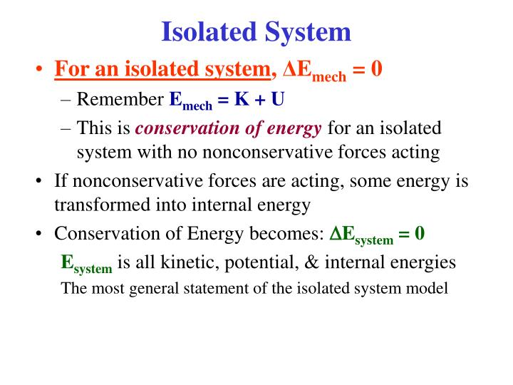 Isolated System