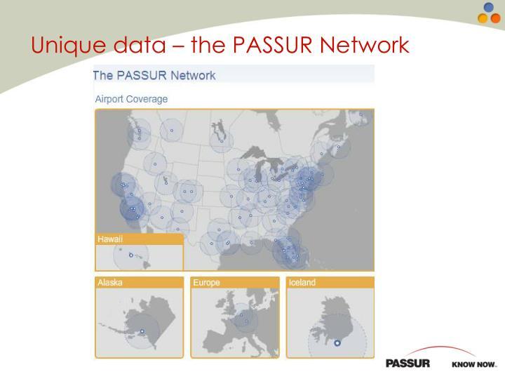 Unique data – the PASSUR Network