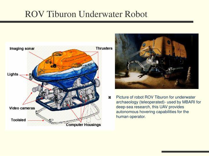 ROV Tiburon Underwater Robot
