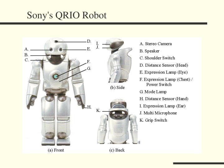 Sony's QRIO Robot