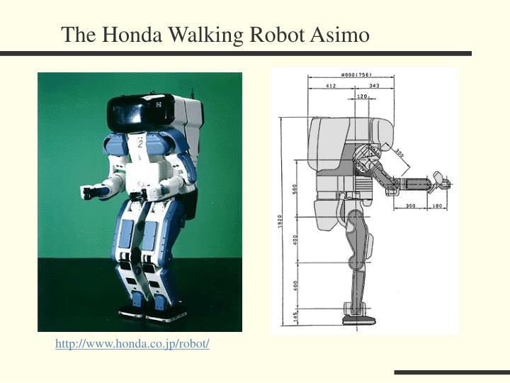 The Honda Walking Robot Asimo