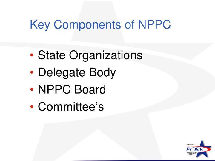 Key Components of NPPC
