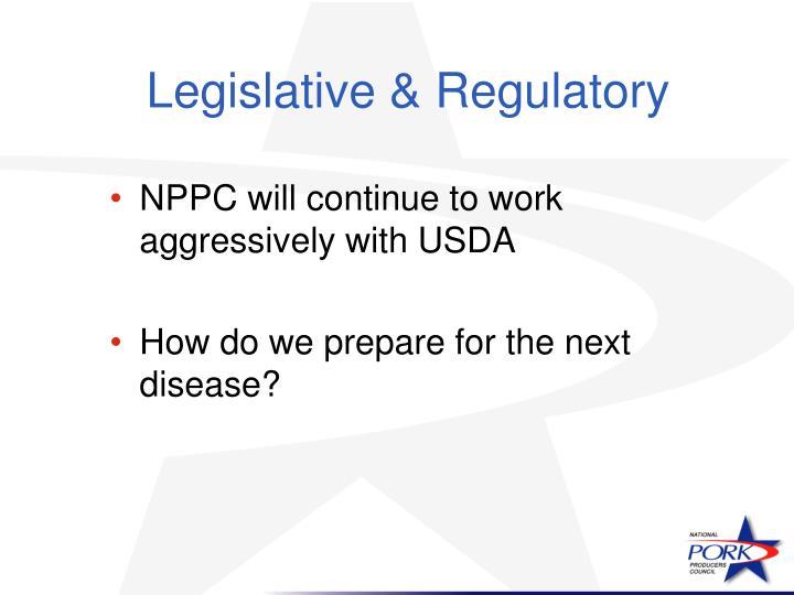 Legislative & Regulatory