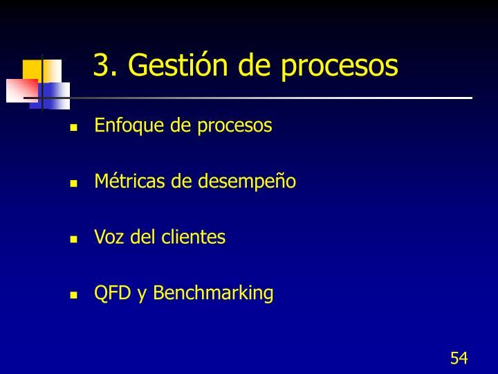 3. Gestión de procesos