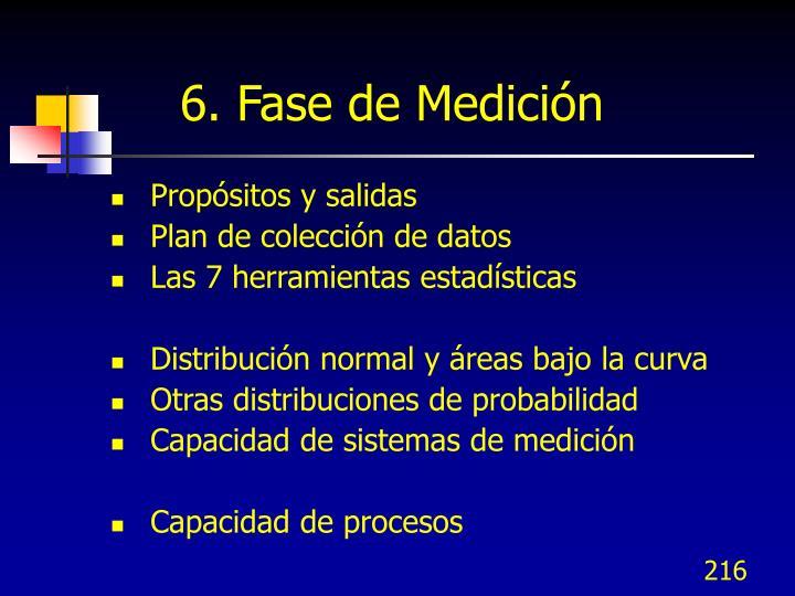 6. Fase de Medición