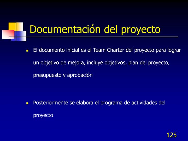 Documentación del proyecto