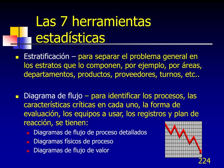 Las 7 herramientas estadísticas