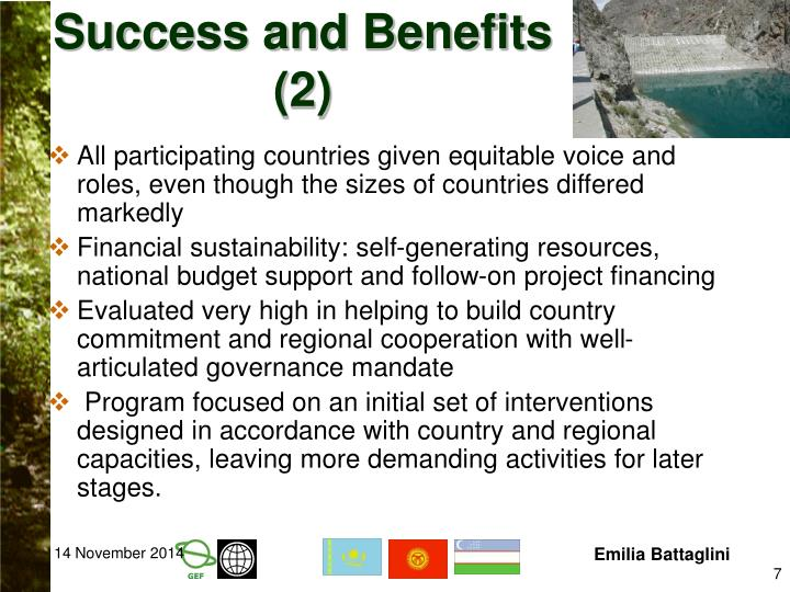 Success and Benefits (2)