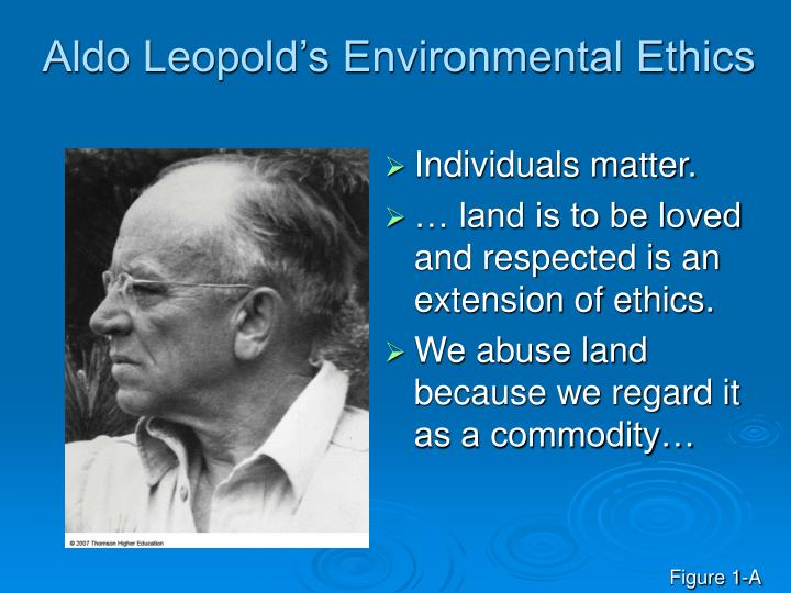 Aldo Leopold's Environmental Ethics