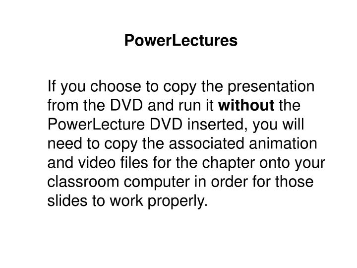 PowerLectures